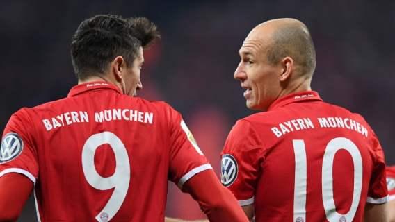 Bayern Monachium Lewandowski Robben
