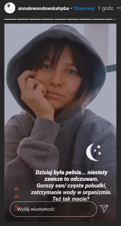 Anna Lewandowska sen