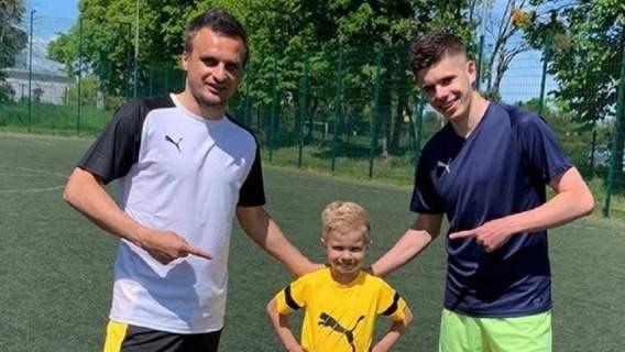 Tak w piłkę gra 5-letni synek Sławomira Peszki. To niesamowite, ile już potrafi (WIDEO)