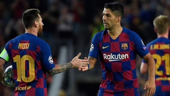FC Barcelona Messi i Suarez