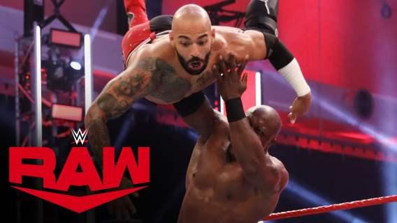 Ricochet vs. Bobby Lashley: Raw, June 29, 2020
