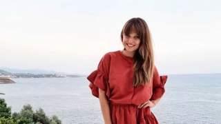 Anna Lewandowska wakacje strój kąpielowy