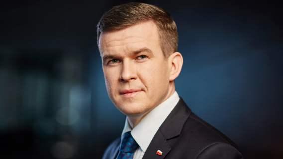 Na zdjęciu: Witold Bańka. Minister sportu i turystyki.