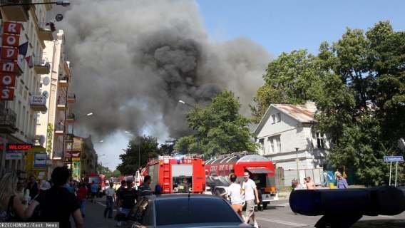 Bohaterski czyn reprezentanta Polski. Rzucił się w ogień, by ratować człowieka
