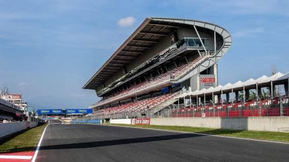Tor F1 Circuit de Catalunya w Barcelonie