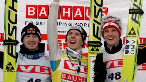 Skoki narciarskie Simon Ammann