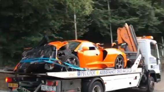 Gwiazdor rozbił auto, którego wyprodukowano tylko kilka sztuk. Cena luksusowego samochodu poraża (WIDEO)