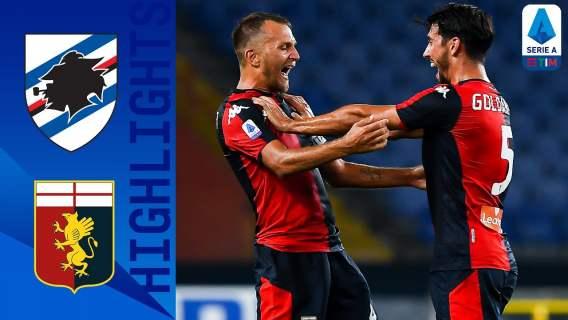 Sampdoria 1-2 Genoa | Genoa ends Sampdoria winning streak! | Serie A TIM
