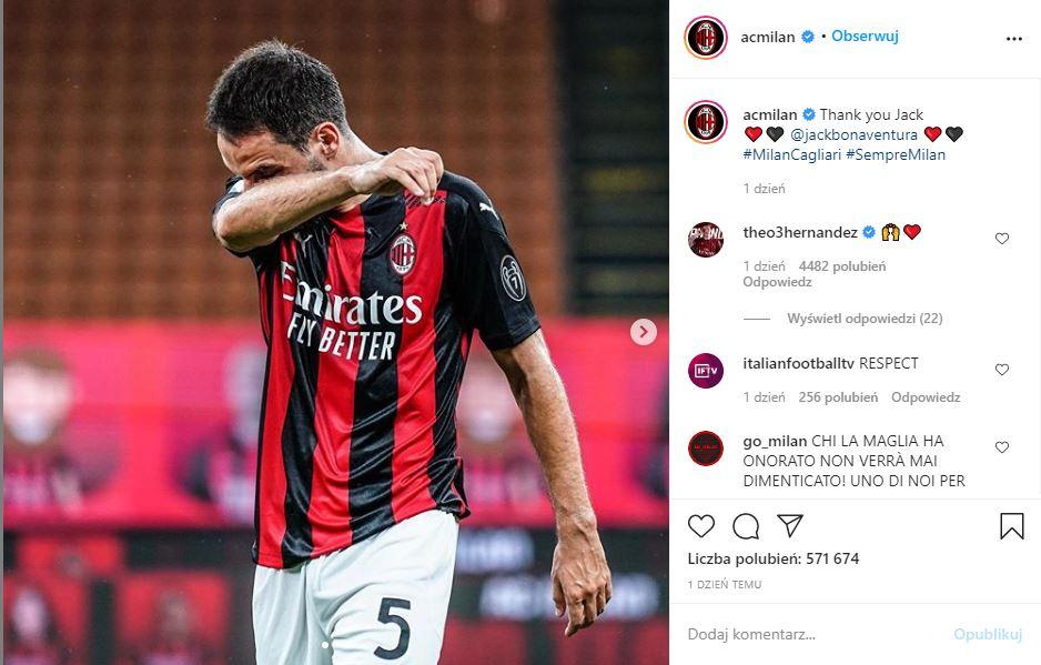 Giacomomo Bonaventura AC Milan