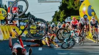 Fabio Jakobsen wypadek