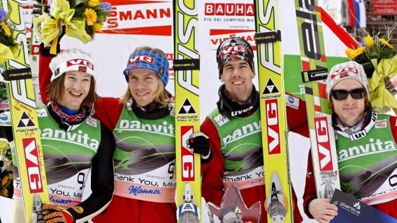 Bjoern Einar Romoeren skoki narciarskie