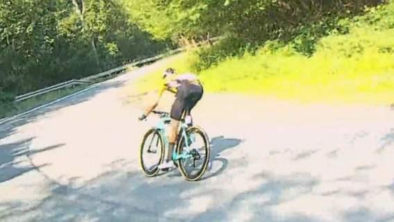 Tour de Pologne wypadek