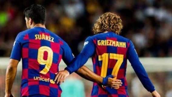 FC Barcelona Suarez
