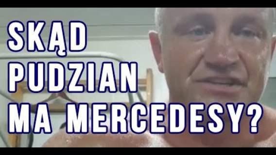 Pudzian wygrał w totka? To stąd te wszystkie mercedesy?