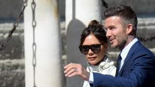 David Beckham i Victoria