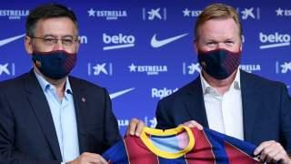 Prezes i trener FC Barcelony
