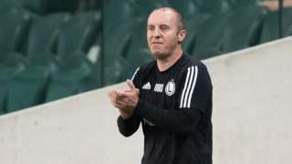 Trener Legii Warszawa Aleksandar Vukovic