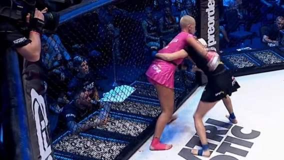 Niesamowita Marta Linkiewicz na gali Fame MMA. Brutalny nokaut już w pierwszej rundzie