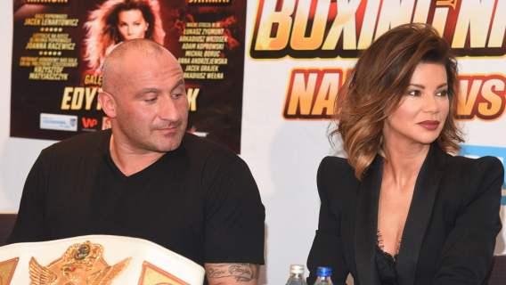 Syn Edyty Górniak miał walczyć w Fame MMA. Reakcja piosenkarki rozbroiła go do reszty