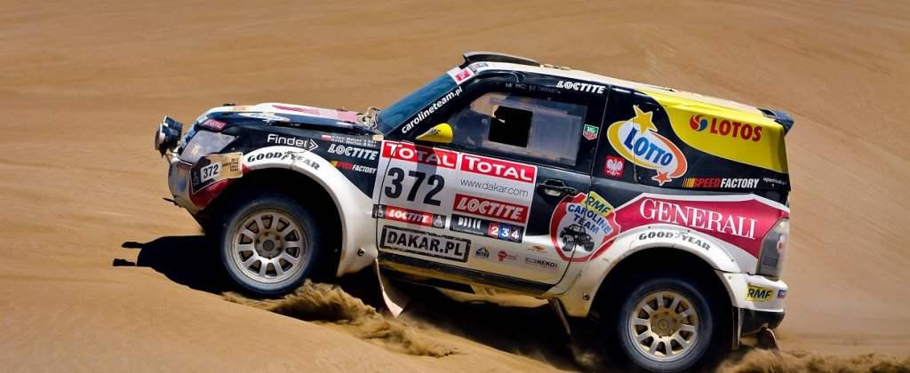Samochód Mitsubishi Adama Małysza