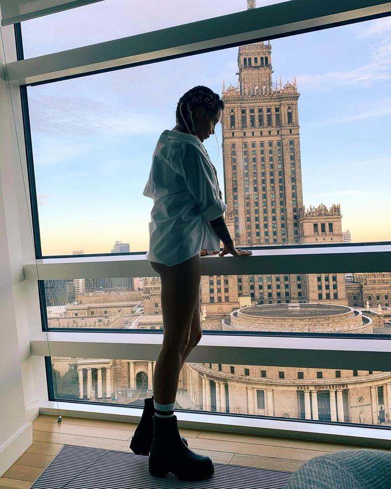 Małgorzata Rozenek bez spodni