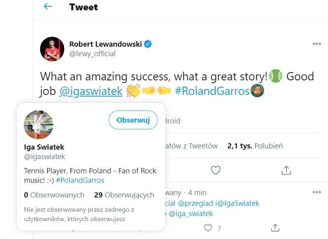 Robert Lewandowski wtopa