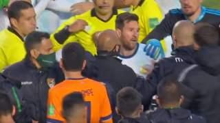 Leo Messi awantura