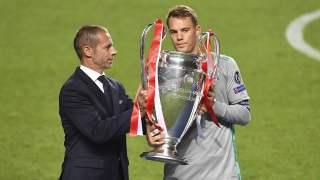 Liga Mistrzów Ceferin i Neuer
