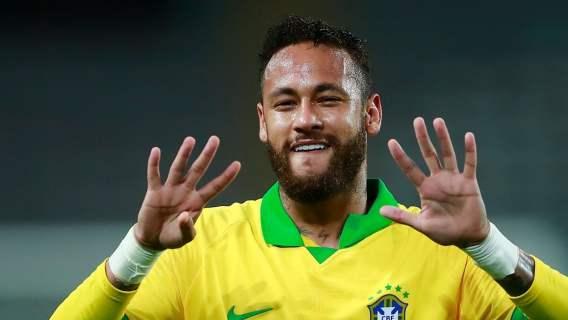 Neymar w barwach Brazylii