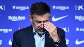 Prezes Barcelony Josep Maria Bartomeu