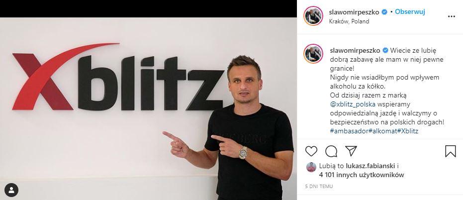 Sławomir Peszko reklama