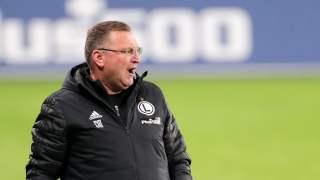 Czesław Michniewicz trener Legii Warszawa