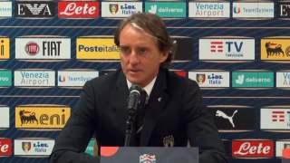 Reprezentacja Włoch Mancini