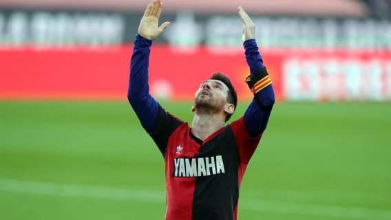Barcelona zapłaci karę za zachowanie Leo Messiego. Gwiazdor chciał uczcić pamięć Diego Maradony