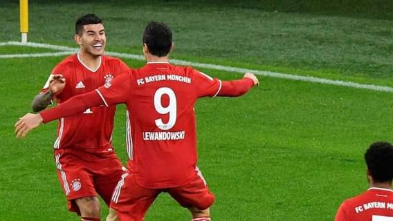 Genialny Bayern Monachium. Robert Lewandowski huknął z głowy jak z armaty, co za strzał (WIDEO)