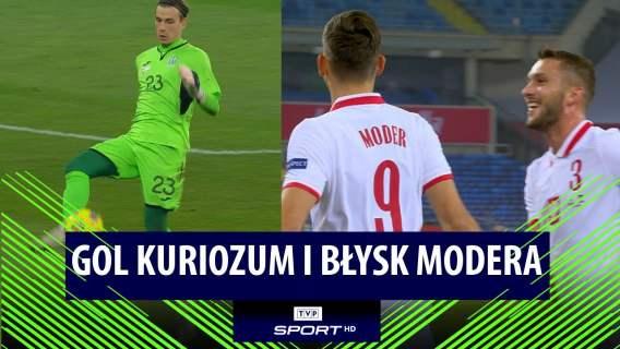 POLSKA - UKRAINA 2:0 (PIĄTEK, MODER)   SKRÓT MECZU