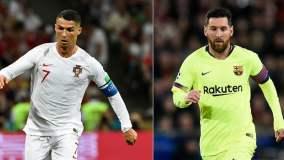 Cristiano Ronaldo Leo Messi