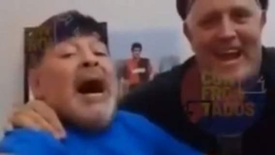 Przerażający film dostał się do sieci. Pokazali jedne z ostatnich chwil Diego Maradony, ciężko na to patrzeć (WIDEO)