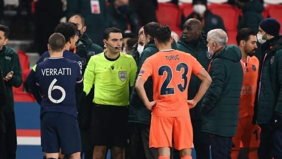 UEFA podjęła decyzję ws. rasistowskiego skandalu w Lidze Mistrzów. Co dalej z meczem PSG?