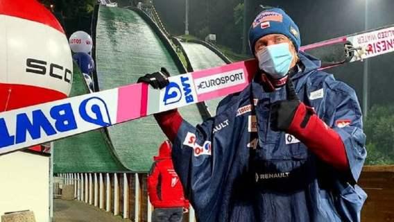 Dawid Kubacki trzeci w Klingenthal