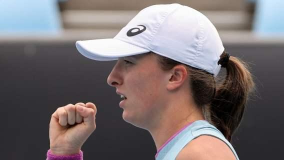 Popis siły Igi Świątek w Australian Open