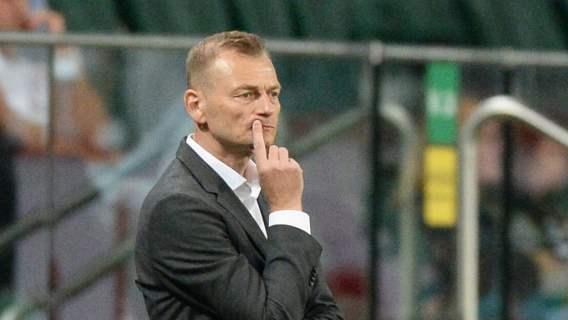Trener Jagiellonii po meczu z Legią był wściekły. Wszystko przez pytanie dziennikarza