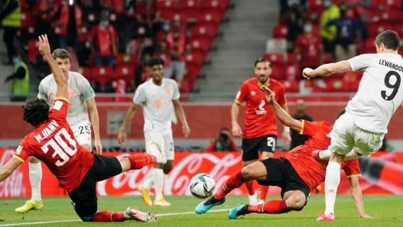 Robert Lewandowski zapisał się dziś w historii. Dwa gole na klubowym mundialu